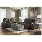 38501 Game Zone - PWR REC - Sofa - Loveseat w/Console