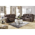 39904 Stoneland - PWR REC - Sofa - Loveseat w/Console