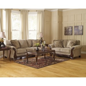 44900 Lanett - Sofa - Loveseat