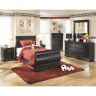 B128 Huey Vineyard - Twin Sleigh Bed AVL in Full