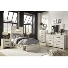 B192 Cambeck - Twin Panel Bed