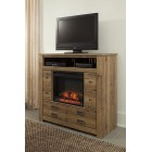 B36949 -W10001 Cinrey -Media Chest w/Fireplace