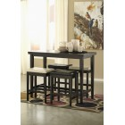 D250- Kimonte - RECT Dining Room Counter Table
