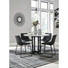 D372-14-06 Centiar - Round Dining Room Table