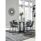 D372-14-08 Centiar - Round Dining Room Table