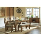 D595-35-01 Flaybern - RECT Dining Room EXT Table