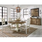 D754-50T-01 Grindleburg - Round Dining Room Table
