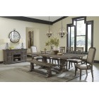 D813-55T-01-02 Wyndahl - RECT Dining Room EXT Table