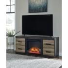 EW0325 Harlinton - LG TV Stand w/Fireplace
