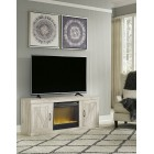 EW0331 Bellaby - LG TV Stand w/Fireplace