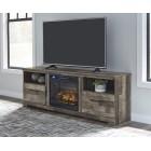 W200 Derekson - XL TV Stand w/Fireplace