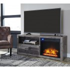 W200- Derekson-LG TV Stand w/Fireplace