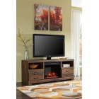 W24668 -W10001 Quinden - LG TV Stand w/Fireplace
