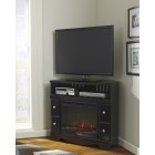 W27112 -W10001 Shay -Corner TV Stand/Fireplace