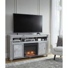 W357-68 Zolena -LG TV Stand w/Fireplace