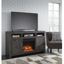 W729-68 Mayflyn-LG TV Stand w/Fireplace