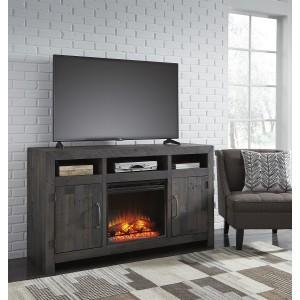 W729-68 Mayflyn-LG TV Stand w/Fireplace