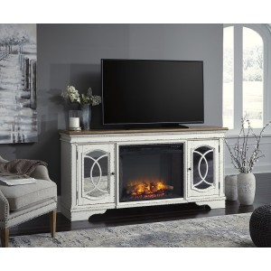 W743-68 Realyn-XL TV Stand w/Fireplace