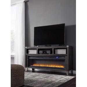 W901-68 Todoe-LG TV Stand w/Fireplace