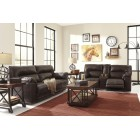 47301 Barrettsville DuraBlend® - 2 Seat Reclining Sofa -DBL Rec Loveseat w/Console