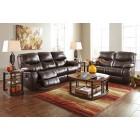 47900 Pranas -Reclining Sofa - Reclining Loveseat