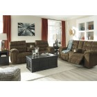 48200 Antwan -REC Sofa w/Drop Down Table - Reclining Loveseat w/Console