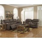71400 Alzena -Reclining Sofa -DBL Rec Loveseat w/Console