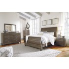 B268 - Birmington - Sleigh Bed