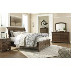 B719 - Flynnter - Sleigh Bed
