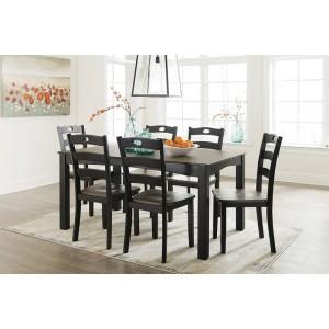 D338-425 Froshburg - Dining Room Table Set (7/CN)