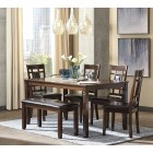 D384-325 Bennox -Dining Room Table Set (6/CN)
