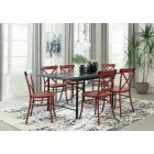 D400- Minnona-  Rectangular Dining Room Table - Multiple Color Available