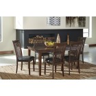 D411- Mallenton - Dining Room Table Set (7/CN)