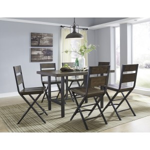 D469-13 Kavara-RECT Dining Room Counter Table