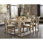 D540-225-102 Mestler-Rectangular Dining Room Table