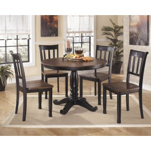 D580-15 Owingsville-Round Dining Room Table