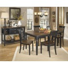 D580-25 Owingsville- Rectangular Dining Room Table