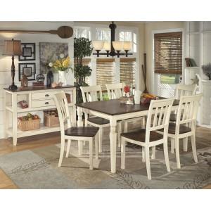 D583-25 Whitesburg- Rectangular Dining Room Table