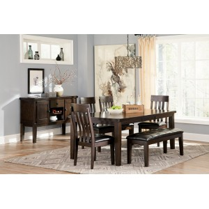 D596-35 Haddigan-  RECT Dining Room EXT Table