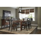 D648-25 Manishore-  Rectangular Dining Room Table