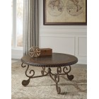 T382-8 Rafferty -Round Cocktail Table