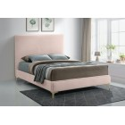 Geri Velvet Bed - UPH Bed