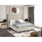 Aiden Velvet Bed - UPH Bed