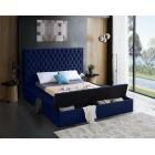 Bliss Velvet Bed - UPH Bed