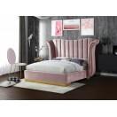 Flora Velvet Bed - UPH Bed