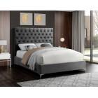Cruz Velvet Bed - UPH Bed