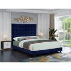 Elly Velvet Bed - UPH Bed